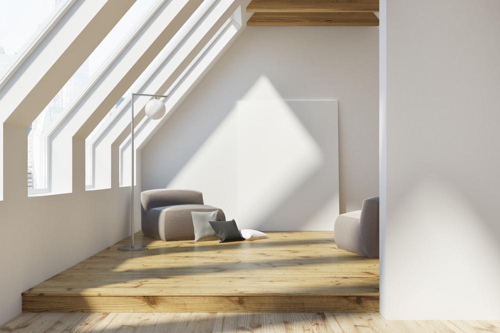 well light loft conversion in earlsfield